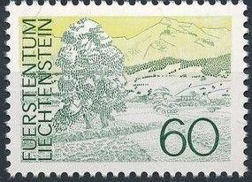 Liechtenstein 1973 Landscapes e.jpg
