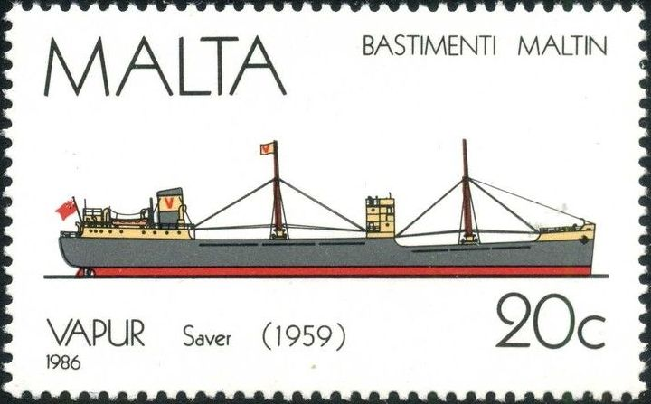 Malta 1986 Maltese Ships (4th Series) d.jpg