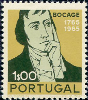 Portugal 1966 2nd Centenary of the Birth of Bocage