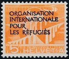 Switzerland 1950 Landscapes and Technology Official Stamps for The International Organization for Refugees