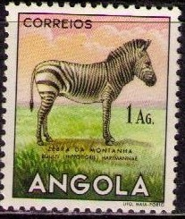 Angola 1953 Animals from Angola g.jpg