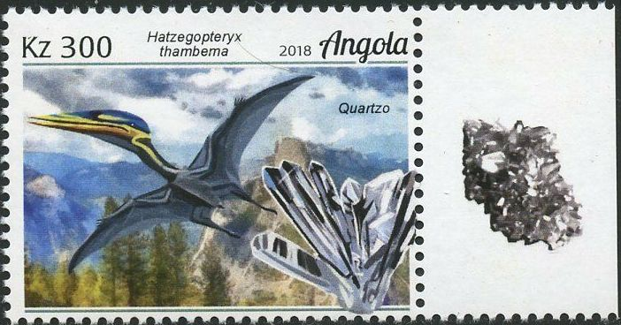 Angola 2018 Wildlife of Angola - Dinosaurs and Minerals b.jpg