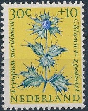 Netherlands 1960 Surtax for Child Welfare - Flowers e.jpg