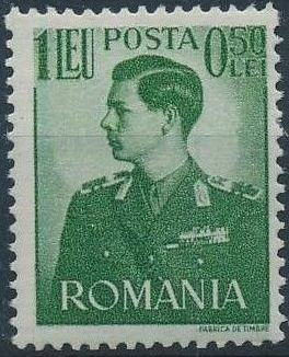 Romania 1940 King Michael I - Semi-Postal (1st Group)