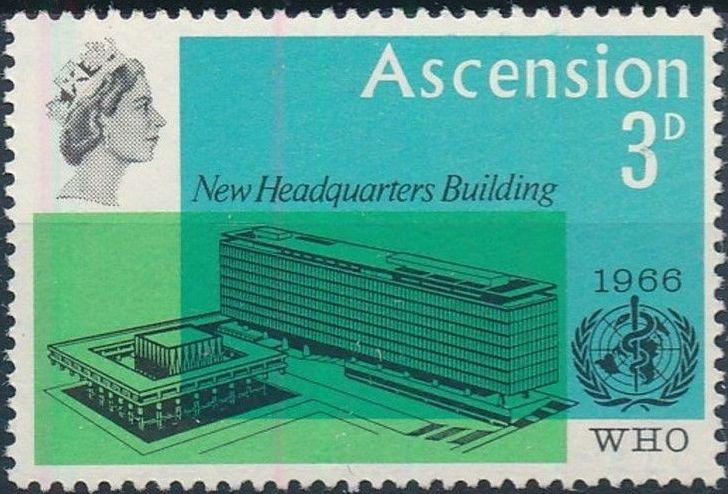 Ascension 1966 Inauguration of WHO Headquarters Geneva
