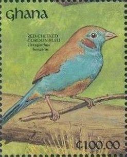 Ghana 1991 The Birds of Ghana zo.jpg
