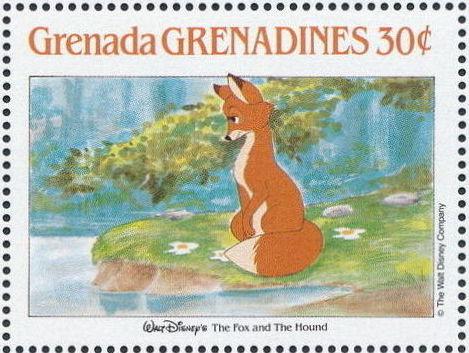Grenada Grenadines 1988 The Disney Animal Stories in Postage Stamps 2h.jpg