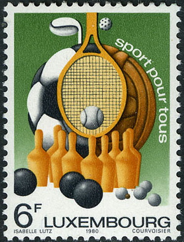 Luxembourg 1980 Sports for All