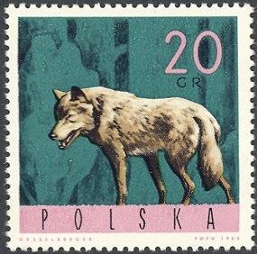 Poland 1965 Forest Animals