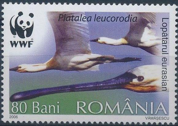 Romania 2006 WWF Eurasian Spoonbill b.jpg