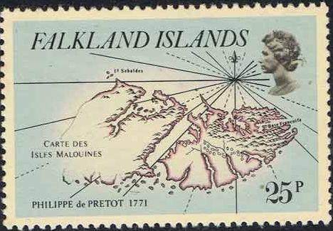 Falkland Islands 1981 18th Century Maps and Charts of the Falkland Islands e.jpg