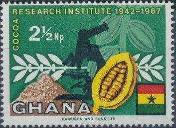Ghana 1968 Ghana's Cocoa Production