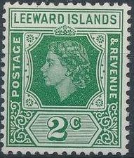 Leeward Islands 1954 Queen Elizabeth II c.jpg