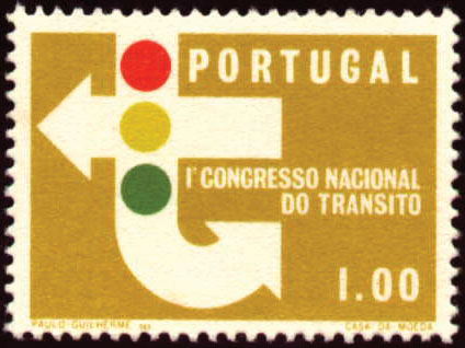Portugal 1965 1st National Traffic Congress