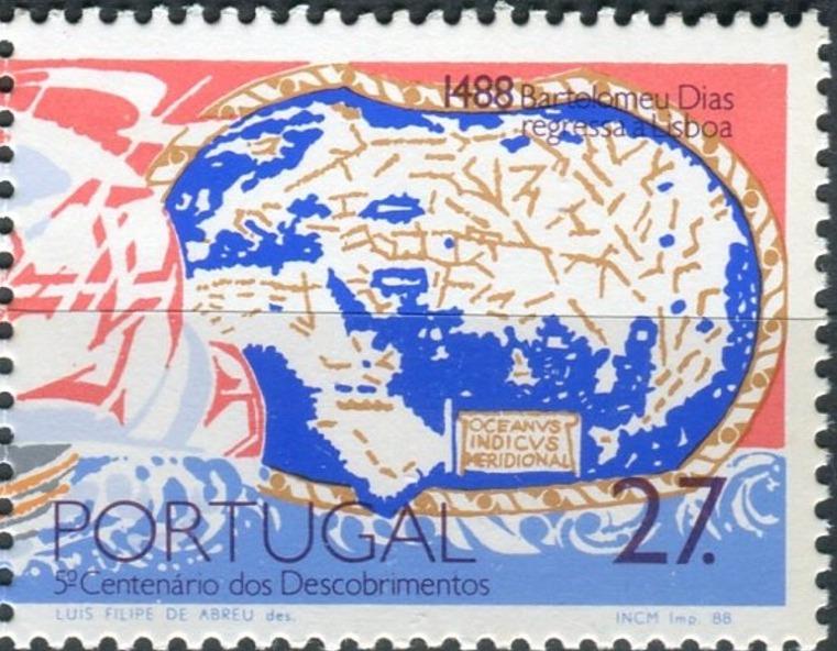 Portugal 1988 500th Anniversary of the Voyages of Bartolomeu Dias b.jpg