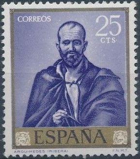 Spain 1963 Painters - José de Ribera