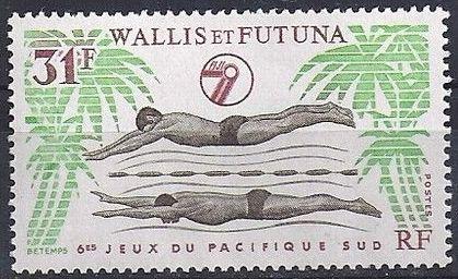 Wallis and Futuna 1979 6th South Pacific Games