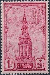 Belgium 1939 Anti Tuberculosis - Belfries e.jpg