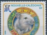 New Caledonia 2008 Year of the Rat
