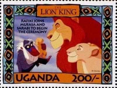 Uganda 1994 The Lion King k.jpg
