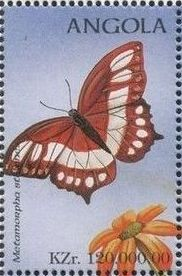 Angola 1998 Butterflies (2nd Group)