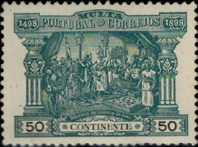 Portugal 1898 400th Anniversary of Discovering the Seaway to India (Postage Due Stamps) d.jpg