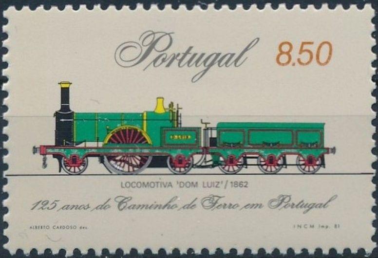 Portugal 1981 125th Anniversary of Portuguese Railroads