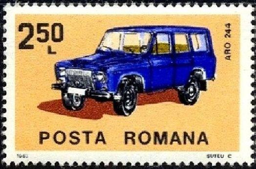 Romania 1983 Romanian Cars d.jpg