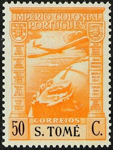 St Thomas and Prince 1938 Portuguese Colonial Empire (Airmail Stamps) c.jpg