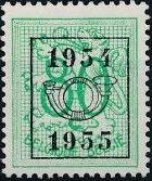 Belgium 1954 Heraldic Lion with Precancellations f.jpg