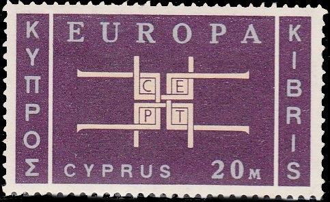 Cyprus 1963 Europa