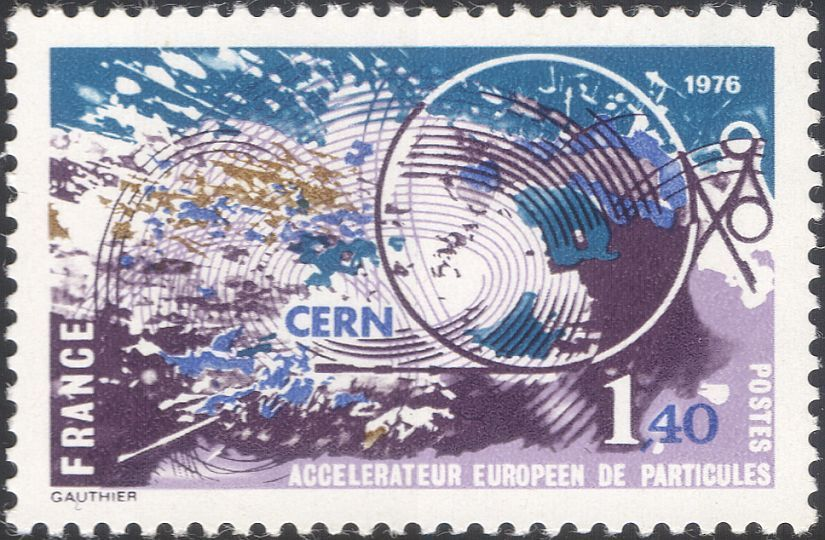 France 1976 European Center for Nuclear Research (CERN)