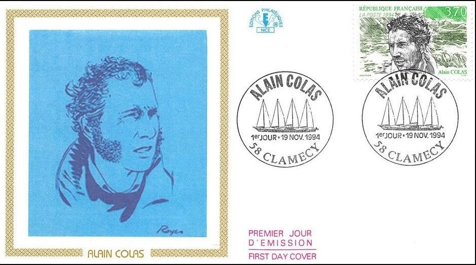 France 1994 Alain Colas FDCa.jpg