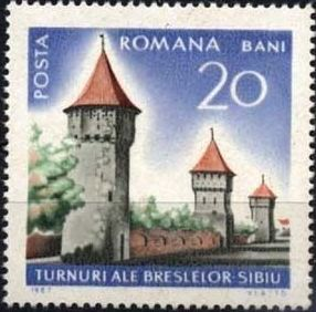 Romania 1967 International Tourist Year - Castles and Fortifications