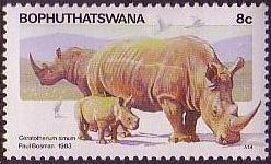 Bophuthatswana 1983 Pilanesberg Nature Reserve