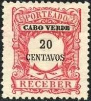 Cape Verde 1921 Postage Due Stamps i.jpg