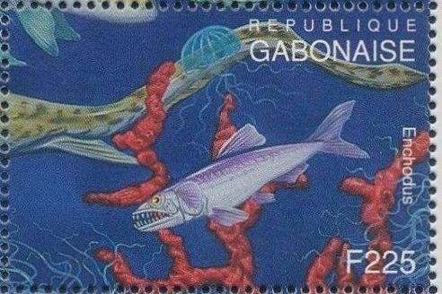 Gabon 1995 Prehistoric Wildlife u.jpg