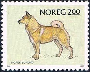 Norway 1983 Norwegian Dogs