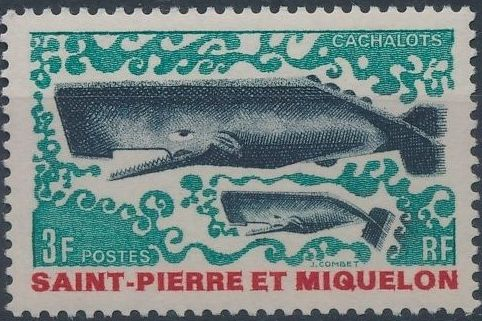 St Pierre et Miquelon 1969 Fauna b.jpg