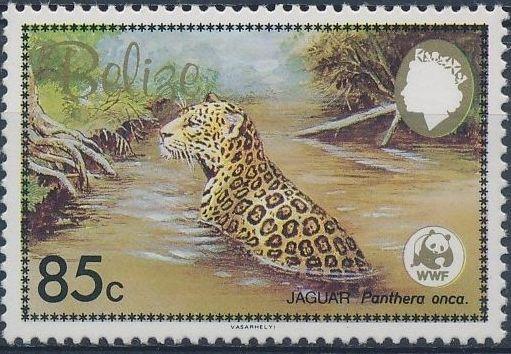 Belize 1983 WWF - Jaguar c.jpg