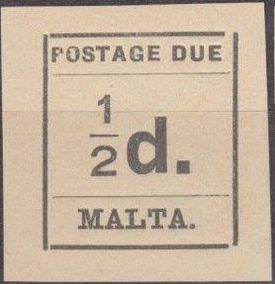 Malta 1925 Postage Due Stamps