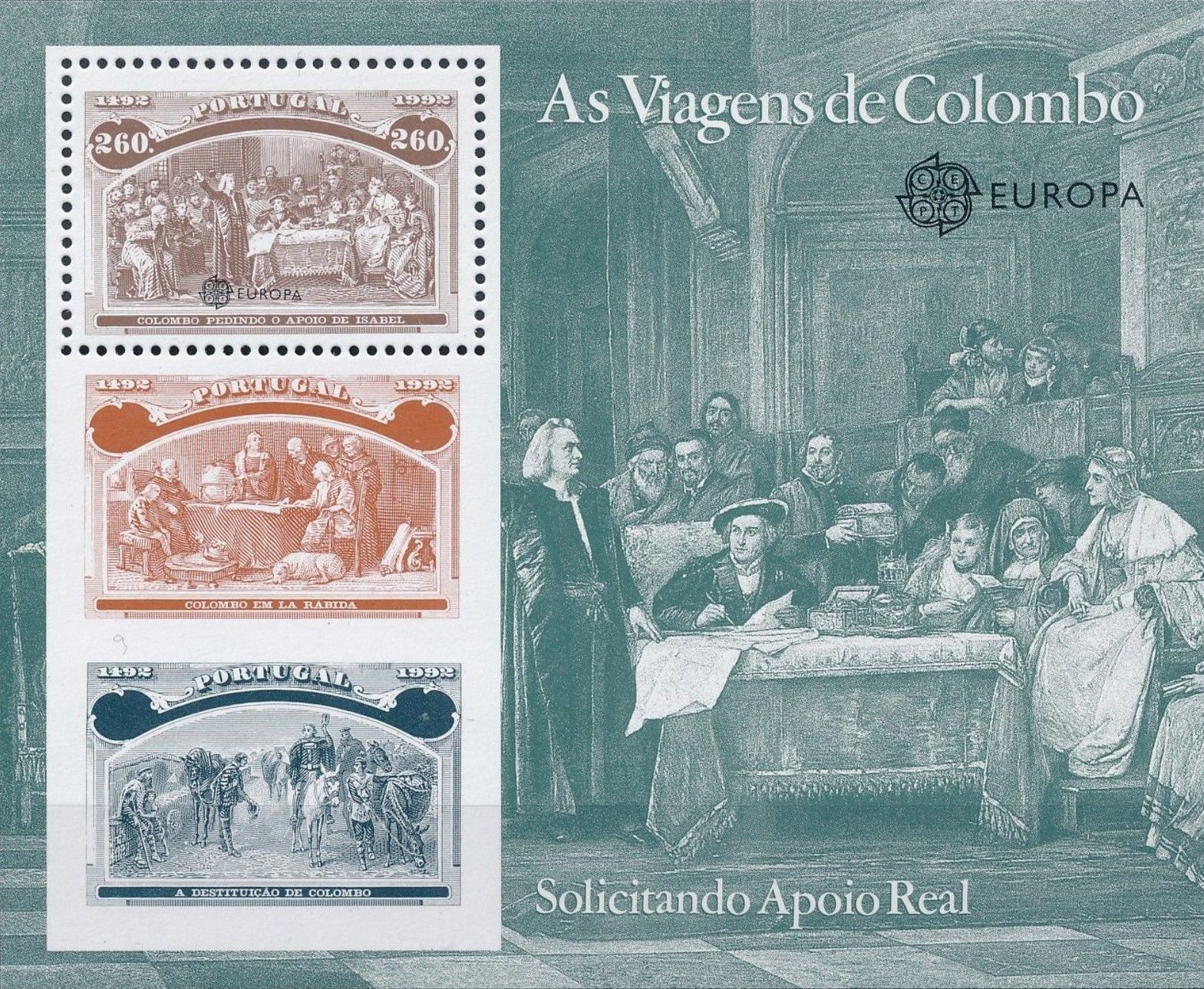 Portugal 1992 500th Anniversary of the Discovery of America SSa.jpg