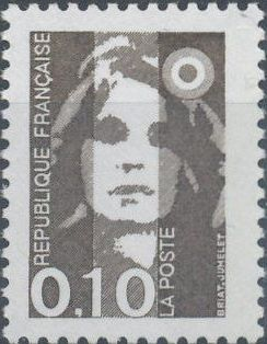 France 1990 Marianne - New Values