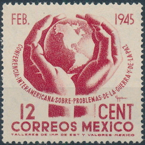 Mexico 1945 Inter-American Conference (Regular Mail)