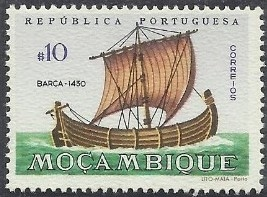 Mozambique 1963 Development of Sailing Ships