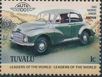 Tuvalu 1984 Leaders of the World - Auto 100 (1st Group) f.jpg