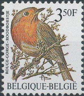 Belgium 1986 Birds (A)