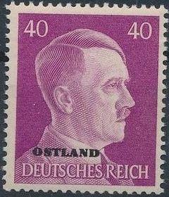 German Occupation-Russia Ostland 1941 Stamps of German Reich Overprinted in Black o.jpg