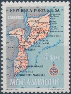 Mozambique 1954 Map of Mozambique f.jpg