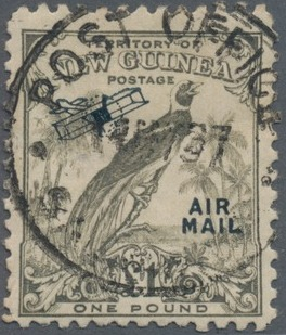 New Guinea 1932 Bird of Paradise - Air Post Stamps n.jpg